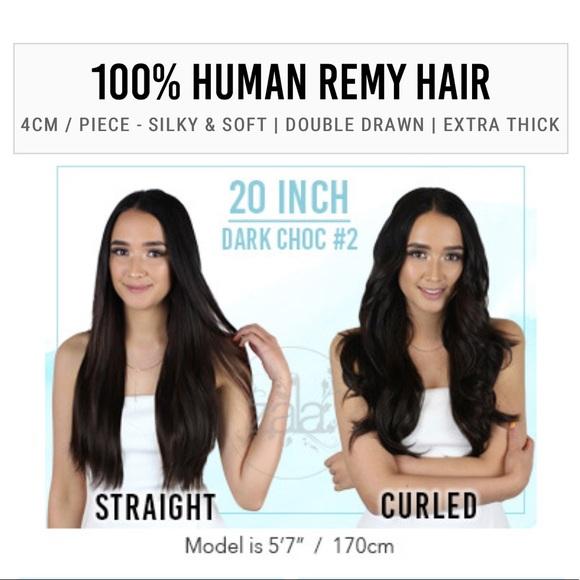 Zala Hair Extensions Other Zala Dark Medium Brown Tape In Hair